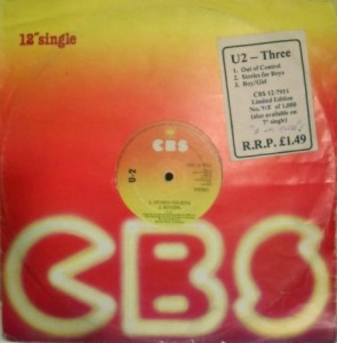 U2 Three 12-inch single