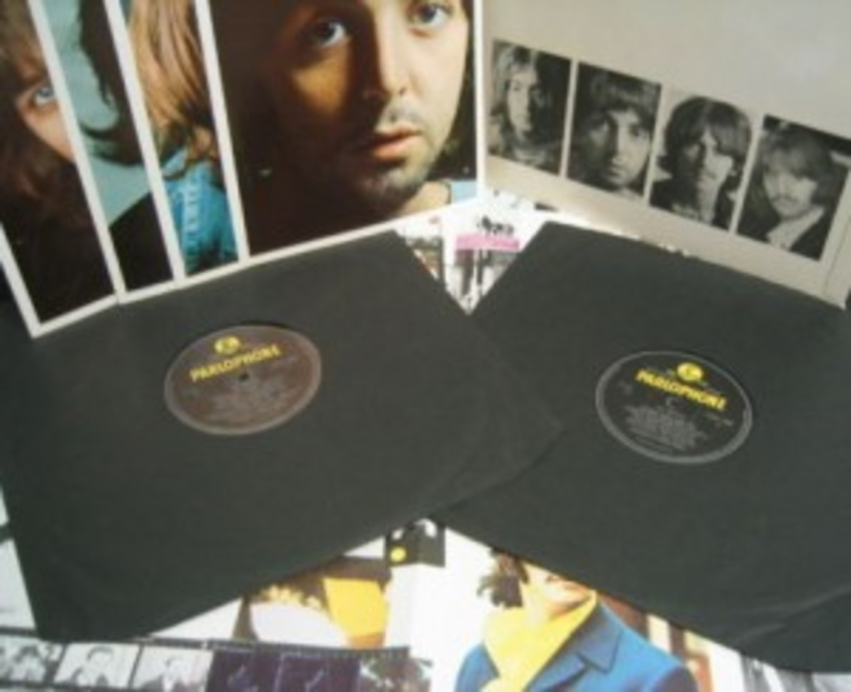 The Beatles White Album double LP