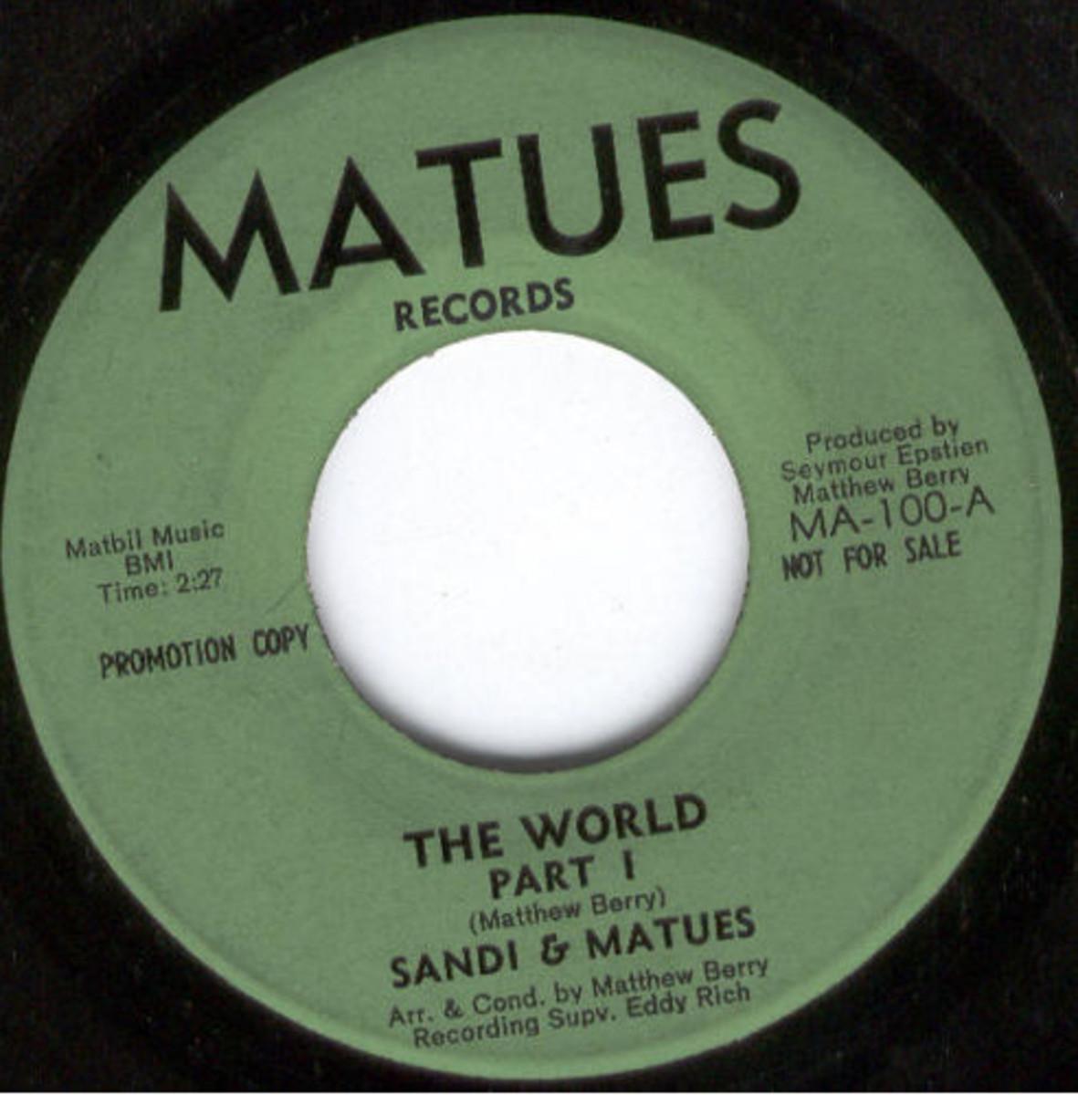 Sandi and Matues The World Part 1 MA-100