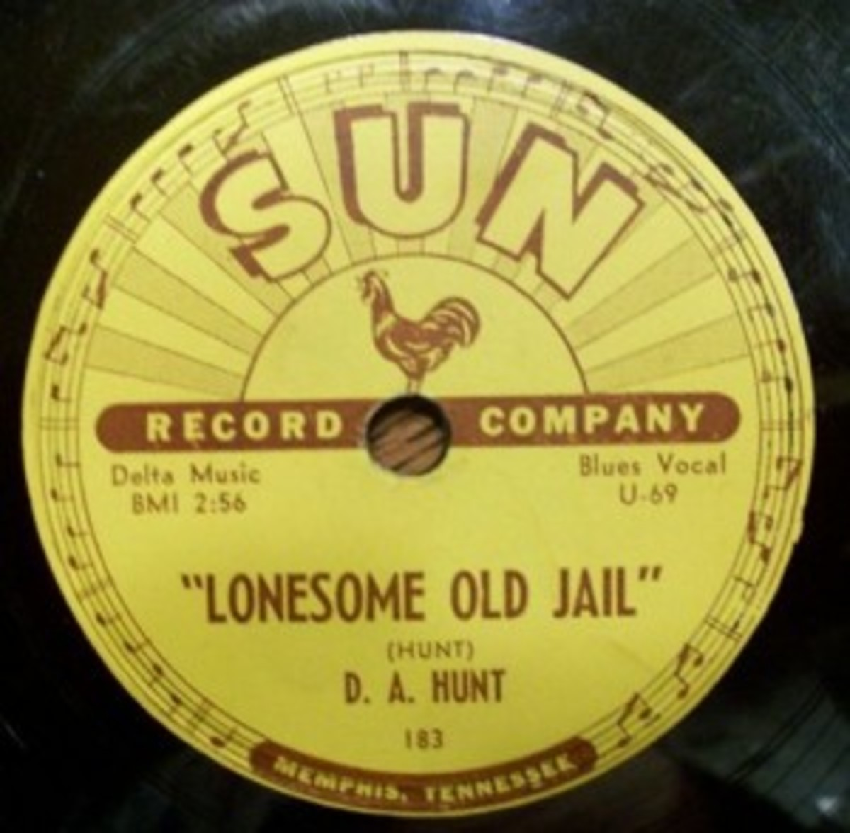 D.A. Hunt Lonesome Old Jail Sun 183