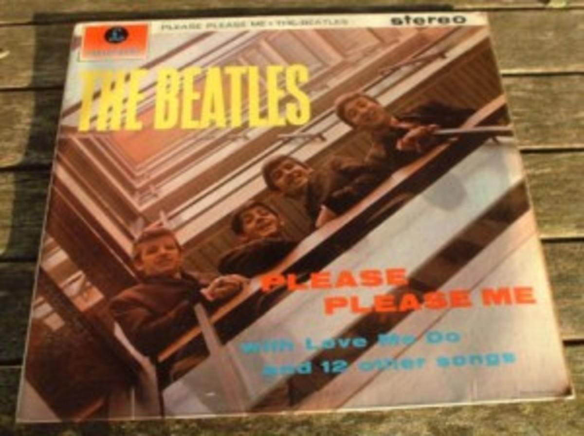 The Beatles Please Please Me album