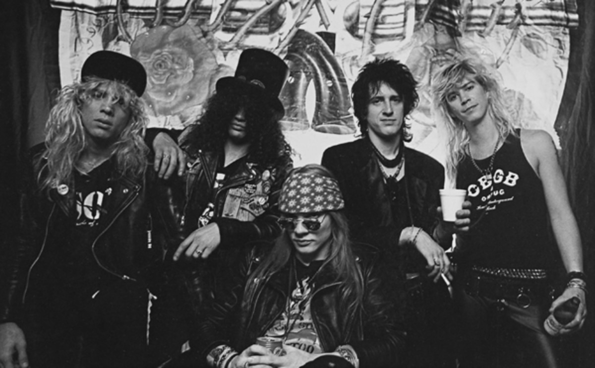 Guns N Roses Welcome To the Jungle photograph by Eric White