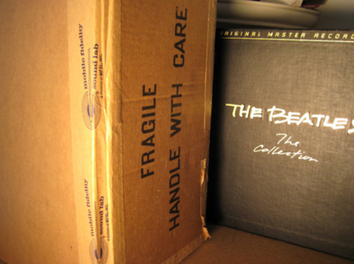 The Beatles still-sealed Mobile Fidelity Sound Labs limited edition box set