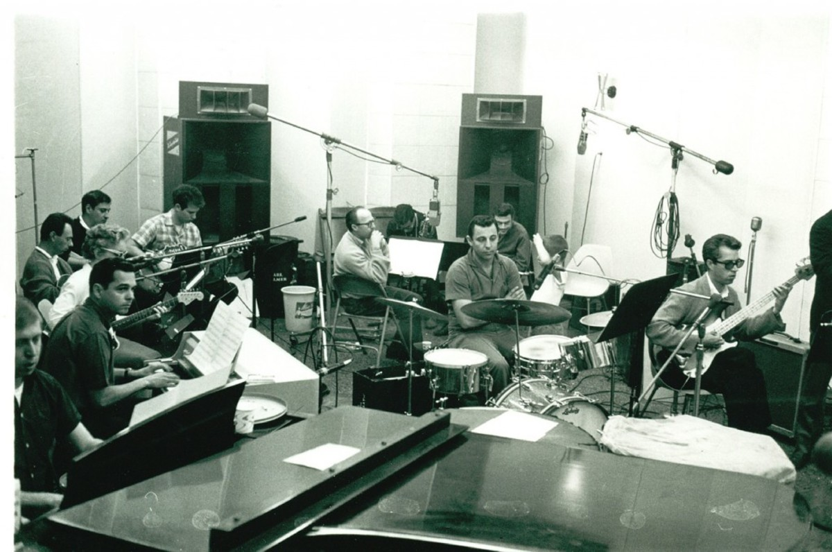 Wrecking Crew Phil Spector session
