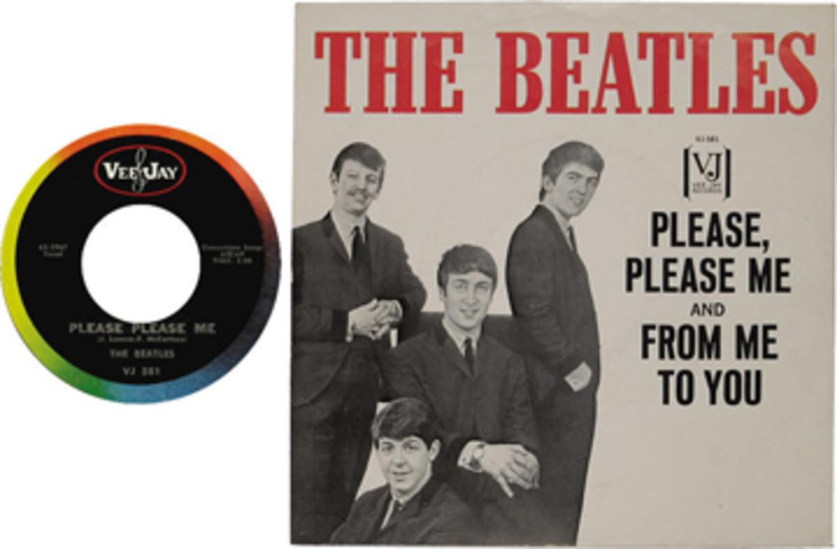 Beatles Please Please Me Vee Jay 581