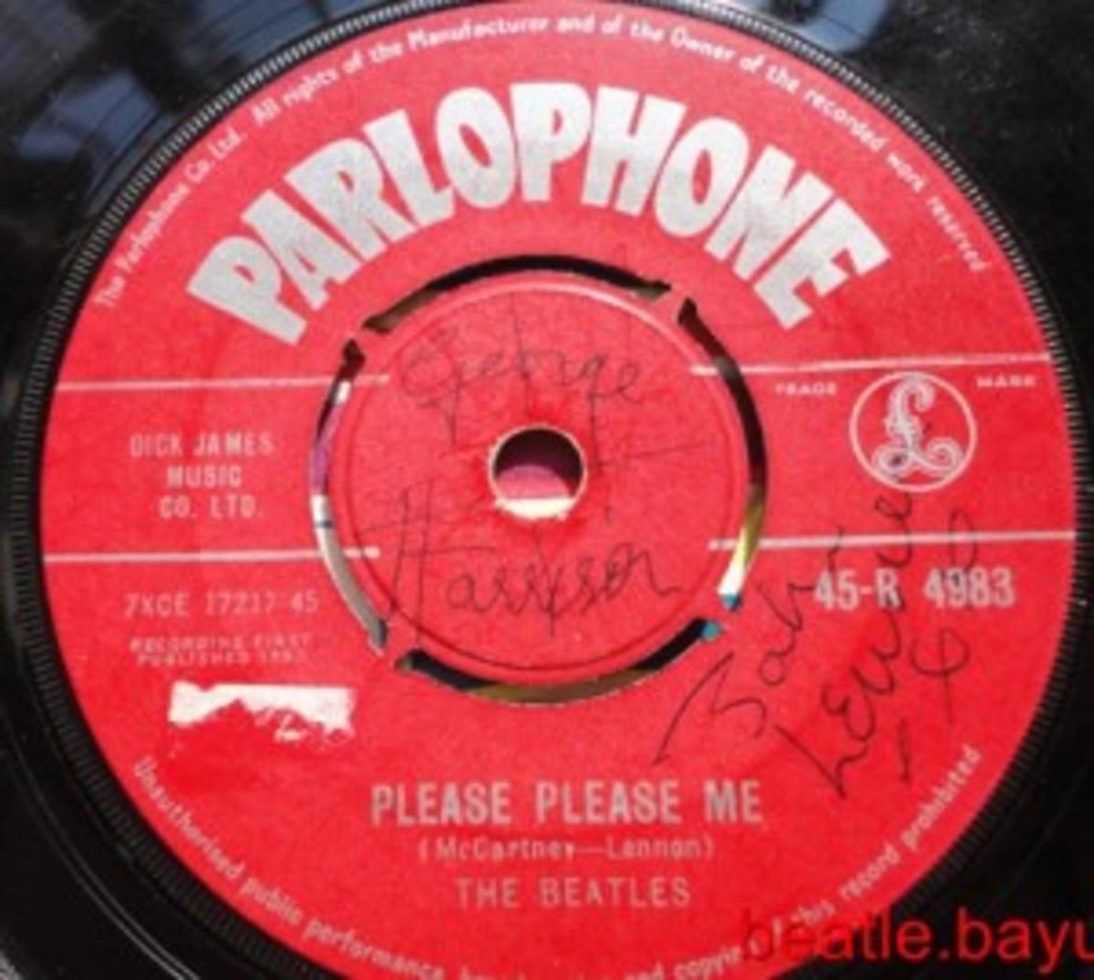 The Beatles Please Please Me 45