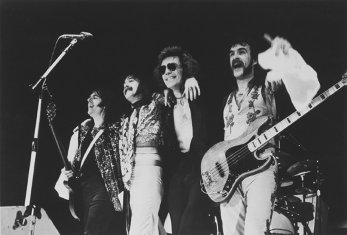 """Foghat (left to right): Dave """"Lonesome"""" Peverett, Rod Price, Roger Earl, Craig MacGregor"""