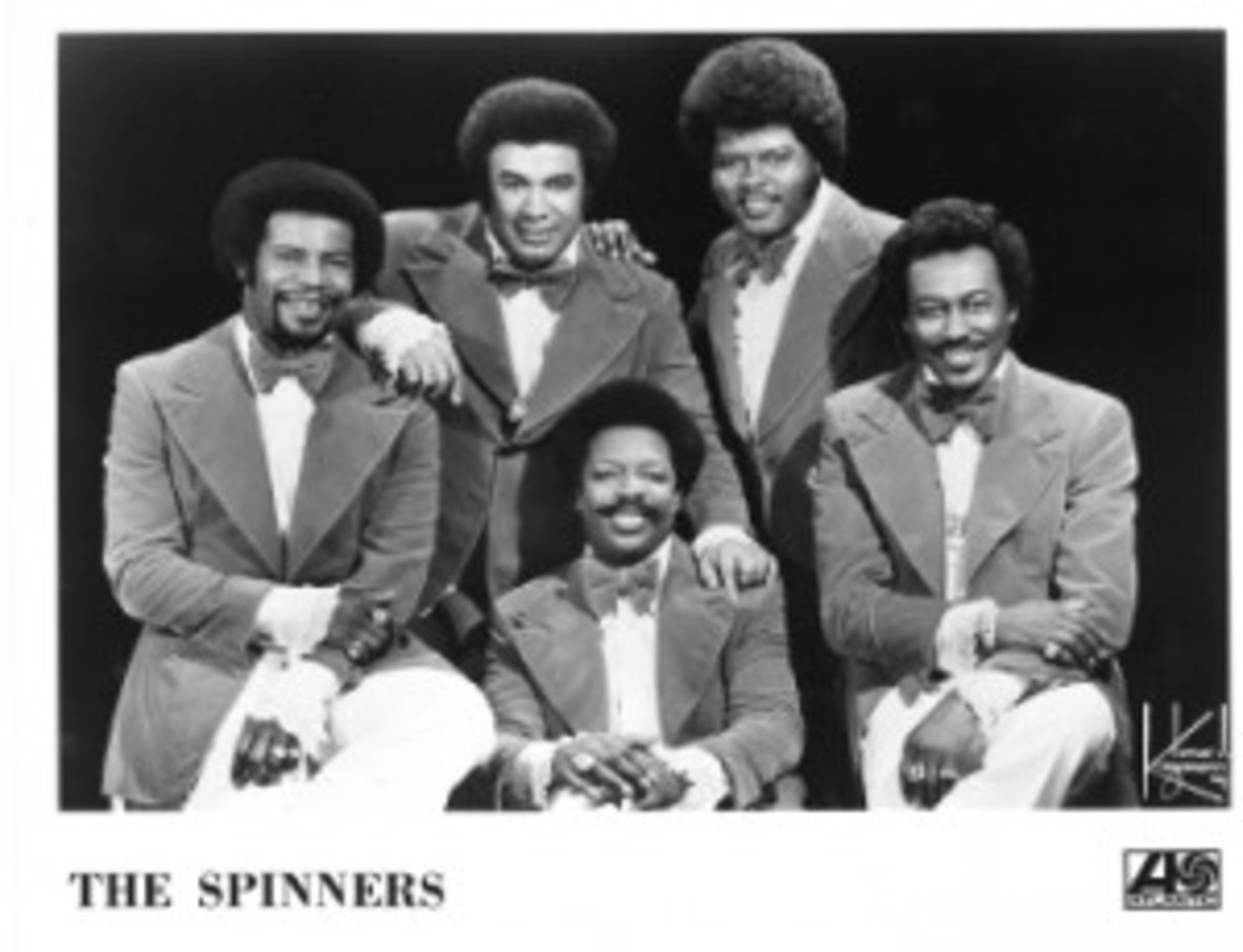 The Spinners 2012 Rock and Roll Hall of Fame