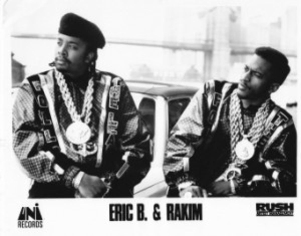 Eric B & Rakim 2012 Rock and Roll Hall of Fame