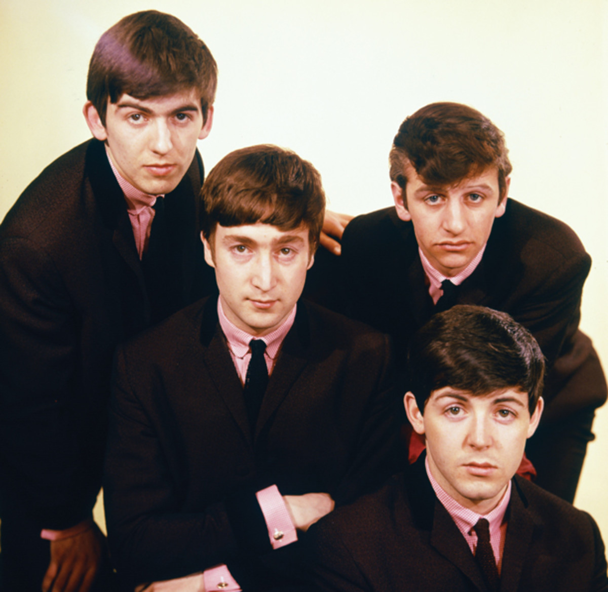 """When The Beatles arrived in America's living rooms, the suits and ties they favored gave them an air of adult authority with their young fans, but contrasted to their cheeky personalities. """"The relationship that fans had with the Beatles during those years is still without historical precedence; there's nothing like it. And can't be anything like it again,"""" says Candy Leonard, author of """"Beatleness."""" The band — which admittedly never strays far from the spotlight despite being disbanded for nearly 45 years — and its music has continued to resonate with new generations of music lovers. Capitol Records released the band's U.S. albums on vinyl, in mono, in 2014, in honor of the 50th anniversary of Beatlemania. PHoto courtesy Apple Corps/Calderstone Productions Ltd."""