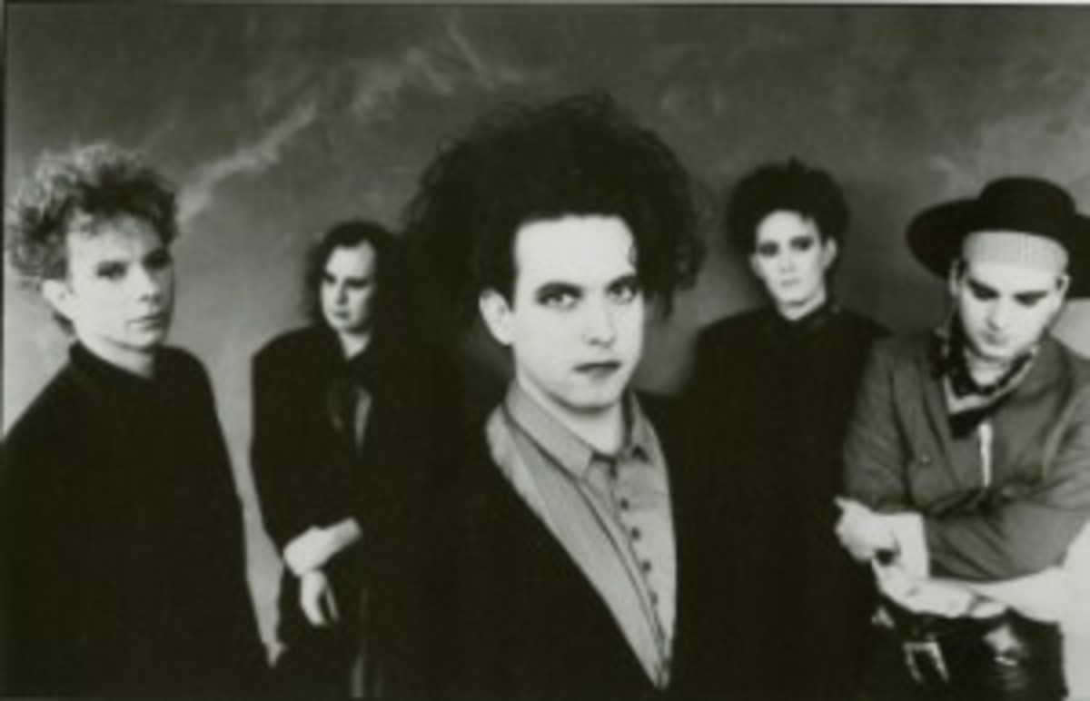 The Cure 2012 Rock and Roll Hall of Fame