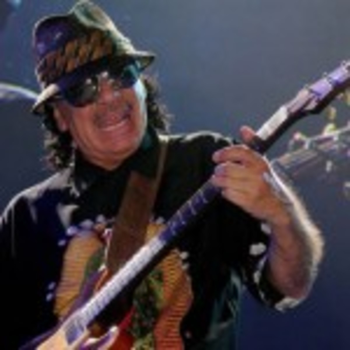 Carlos Santana (photo by Hal Miller)