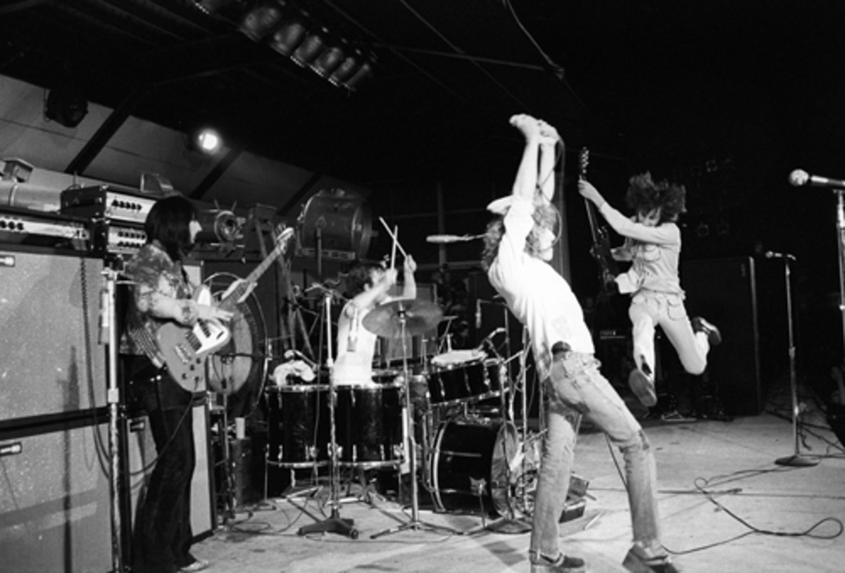 PERFECT FOR FRAMING: Photographer Joe Sia captured this shot of The Who as headliners of the one-day festival called Goodbye Summer, which was held at London's Oval Cricket Grounds on Sept. 18, 1971. The festival was organized to raise money and awareness of the famine taking place in Bangladesh at the time. At Wolfgang's Vault, an 11-by-14-inch print goes for $250, a 16-by-20 print is $350 and the 20-by-24 limited edition print is $500.