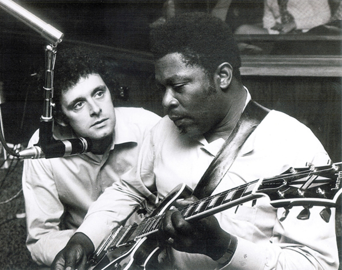 Bill Syzmczyk with BB King