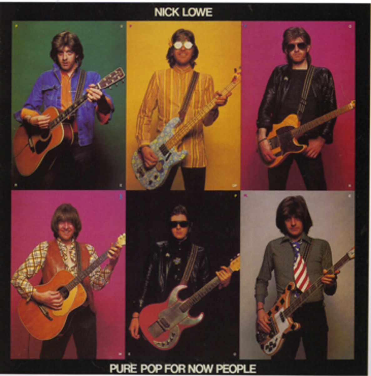Nick Lowe Pure Pop For Now People U.S. issue