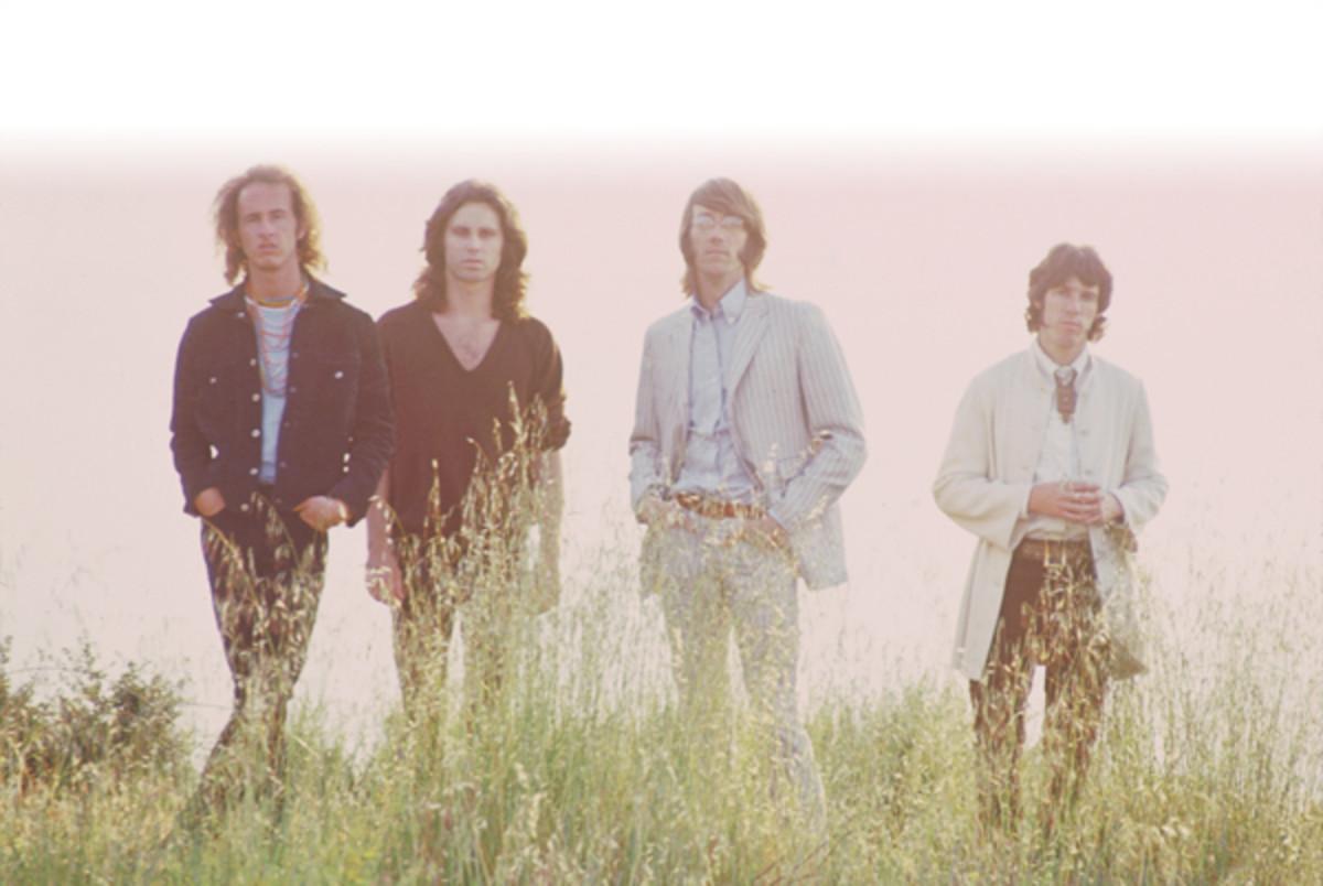THE DOORS (from left) Robby Krieger, Jim Morrison, Ray Manzarek and John Densmore. Photo courtesy Rhino.