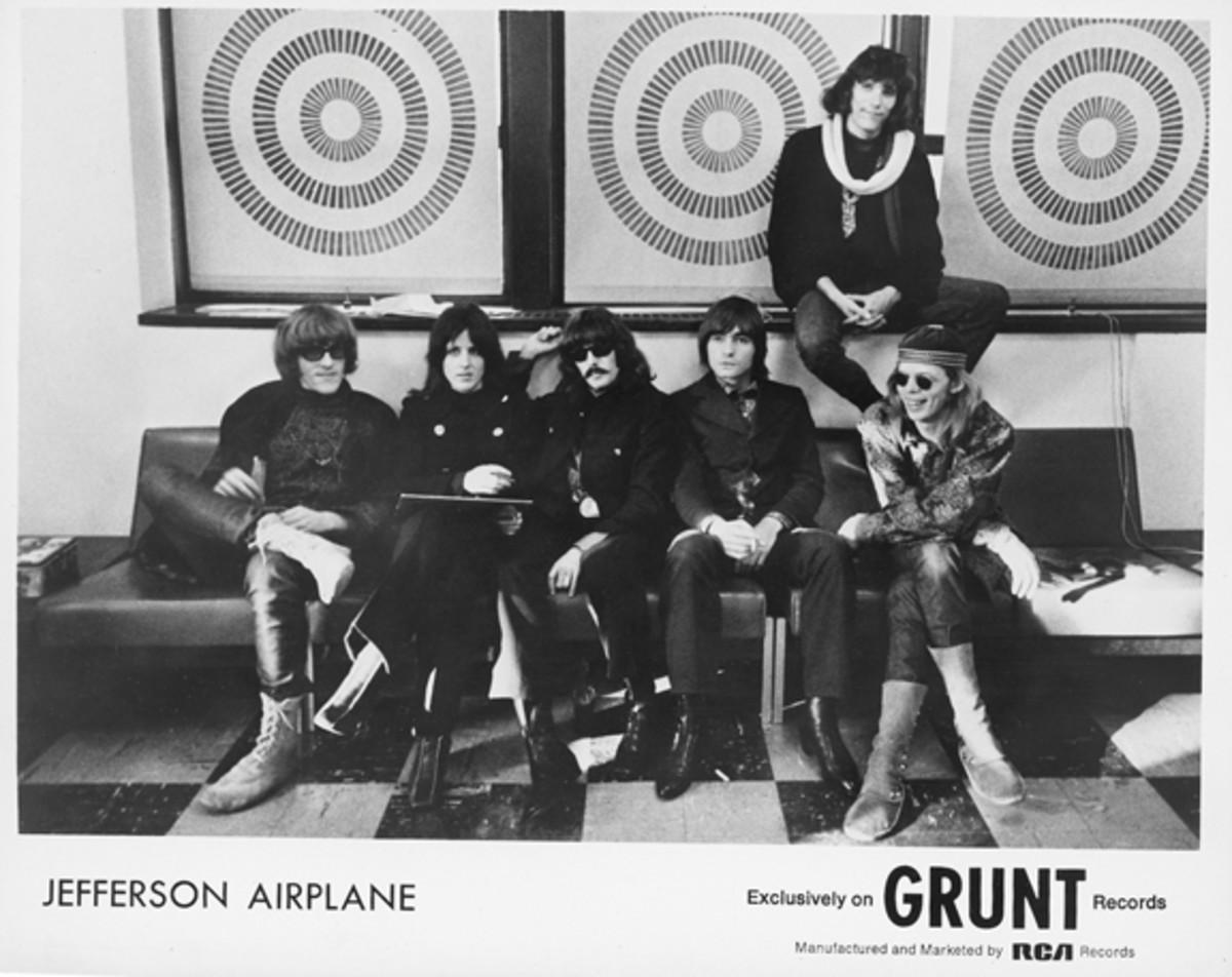 Jefferson Airplane Grunt Records publicity photo