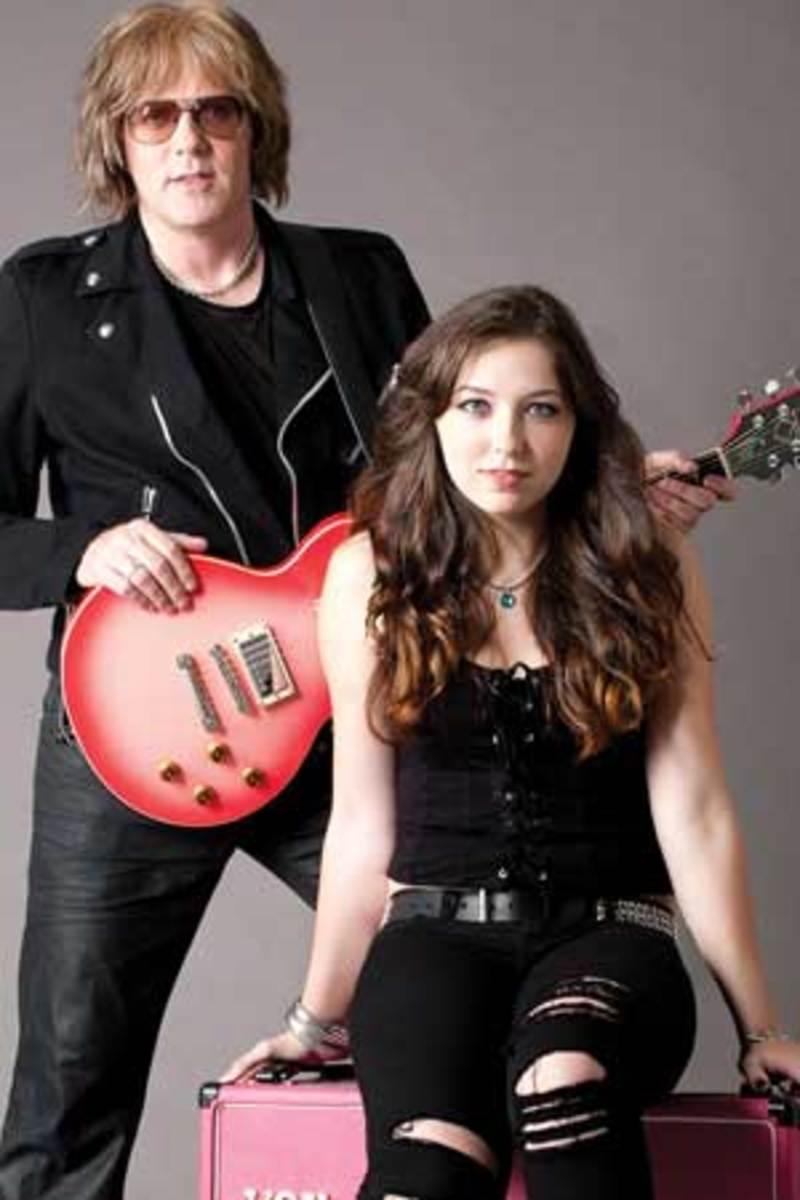 Jay Jay French and his daughter, Samantha.