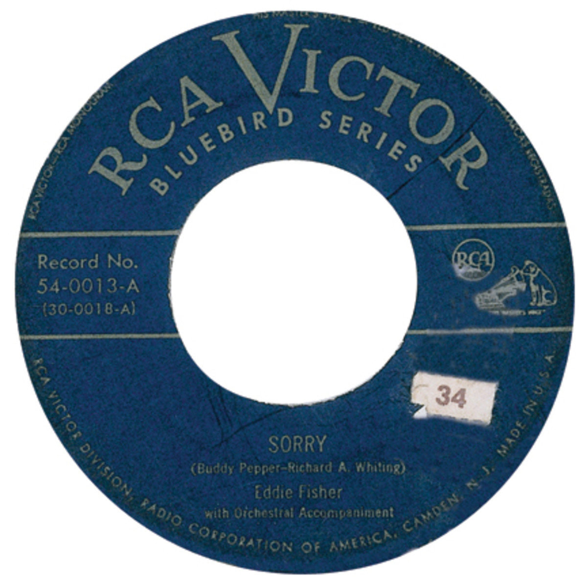 Eddie Fisher RCA 5400013