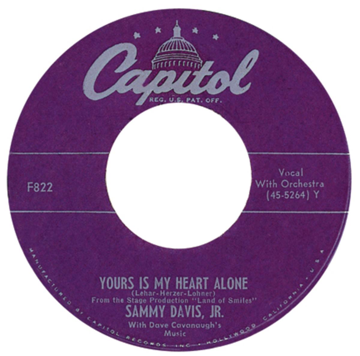 Sammy Davis Jr. Capitol 455364