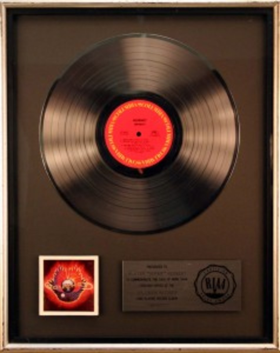 Journey RIAA Award