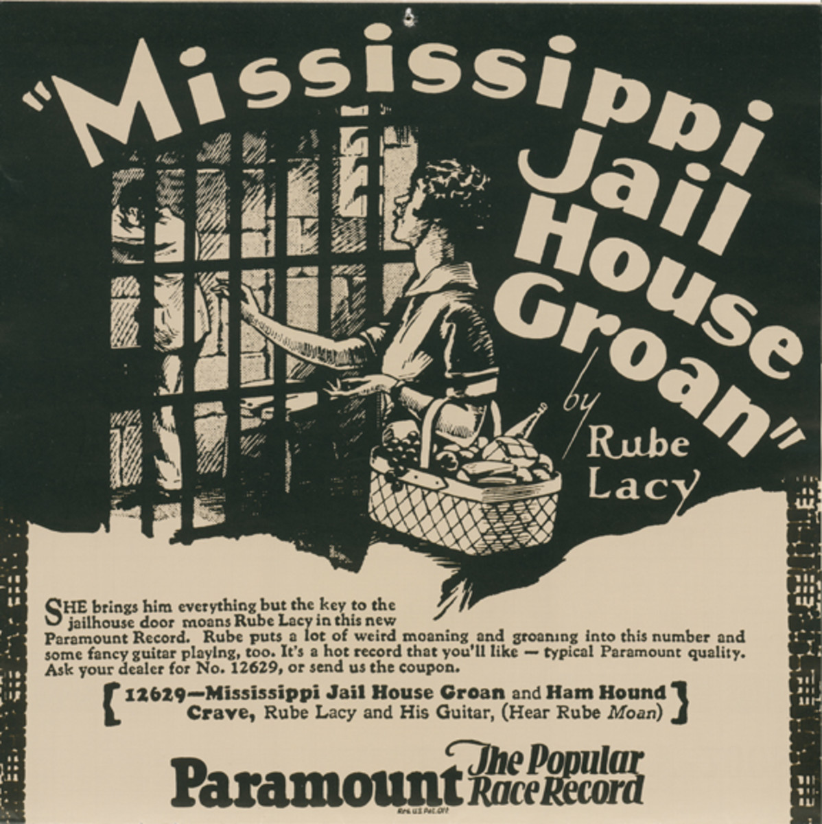 Mississippi Jail House Groan by The Rev. Rube Lacy