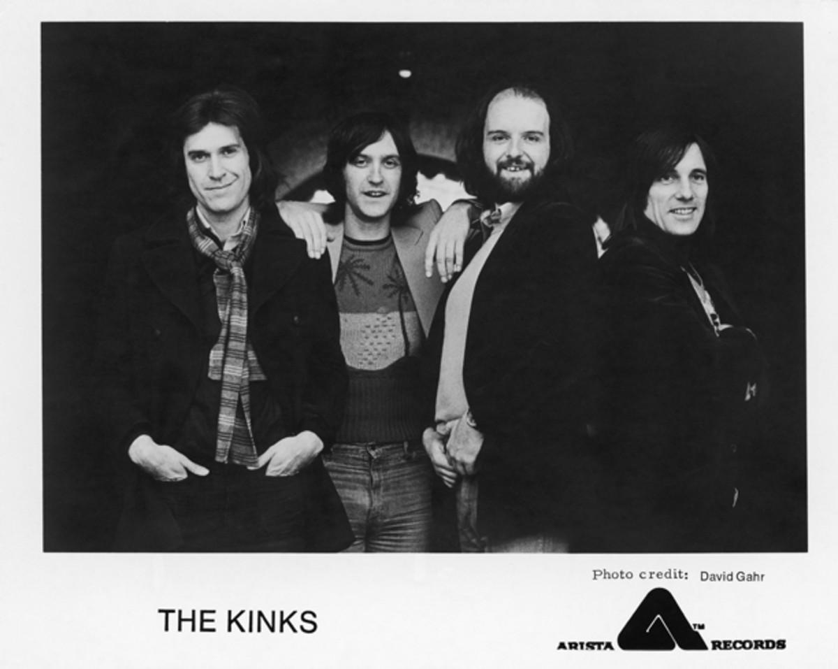 The Kinks Ray Davies Dave Davies