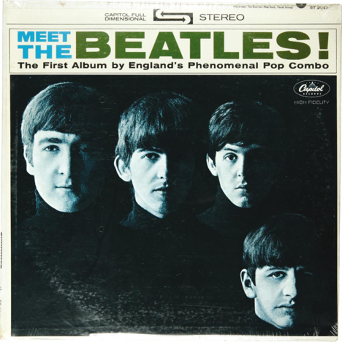 Meet the Beatles still sealed record