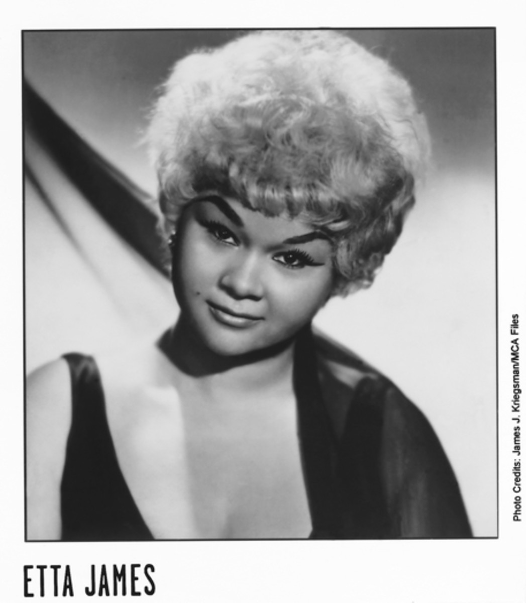 Etta James. Publicity photo courtesy MCA/James J. Kriegsman.