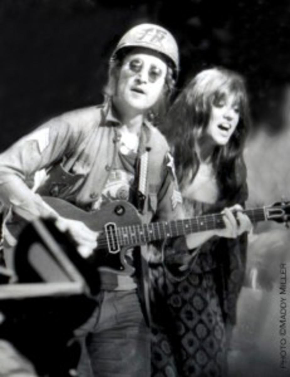 Melanie, John Lennon