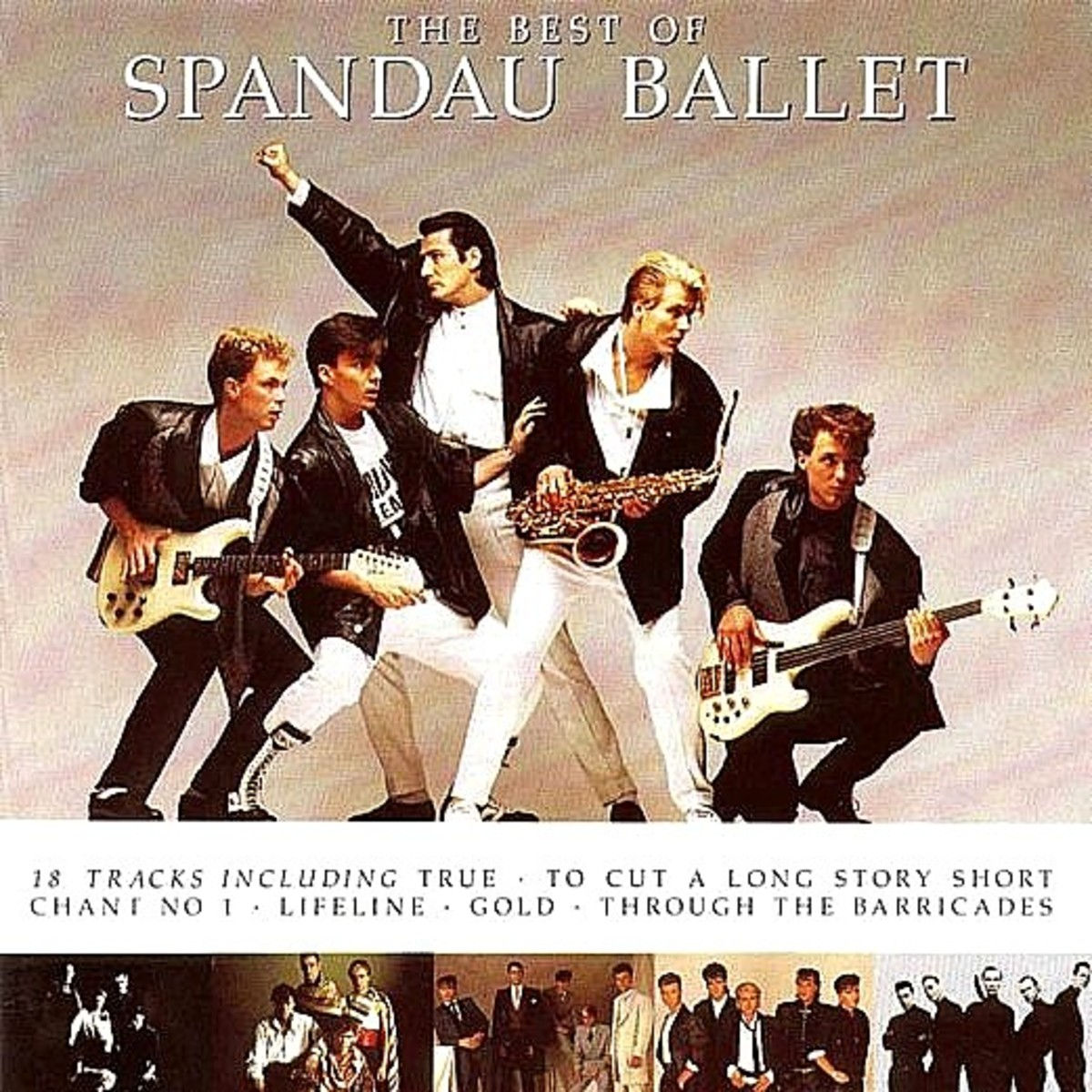 The Best Of Spandau Ballet - Front