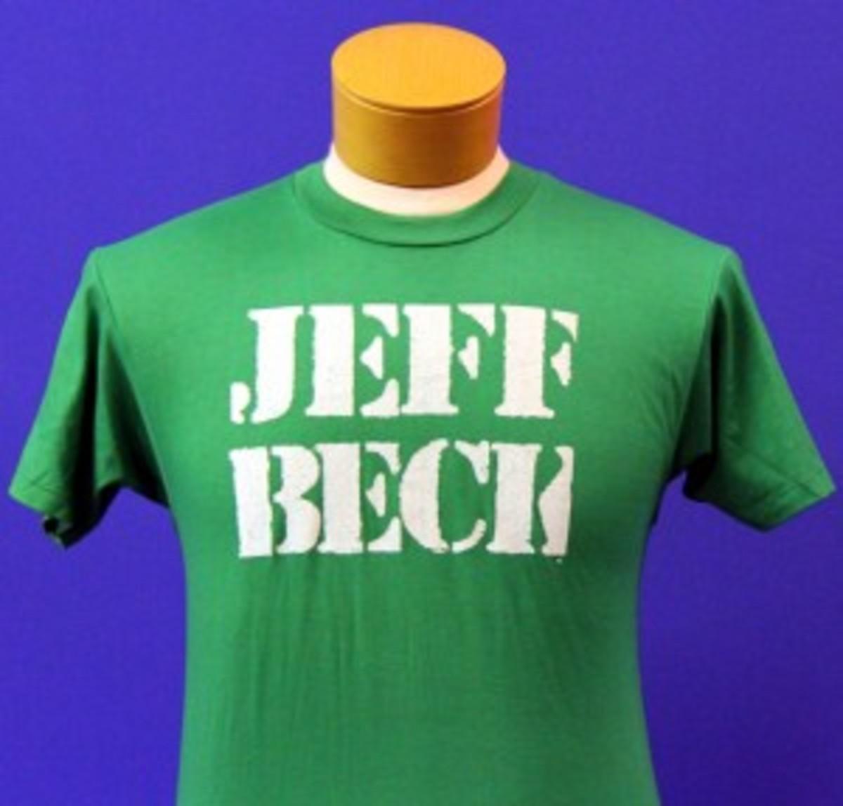 Jeff Beck concert T-shirt