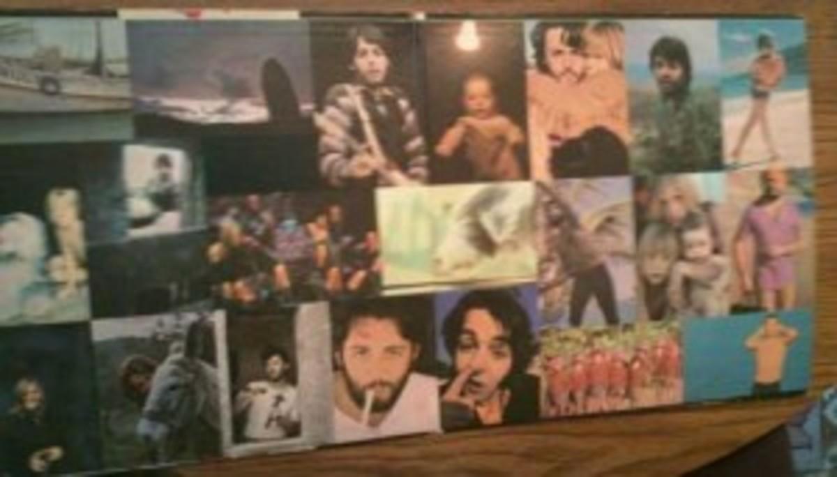 "The original gatefold of ""McCartney"" VG+"