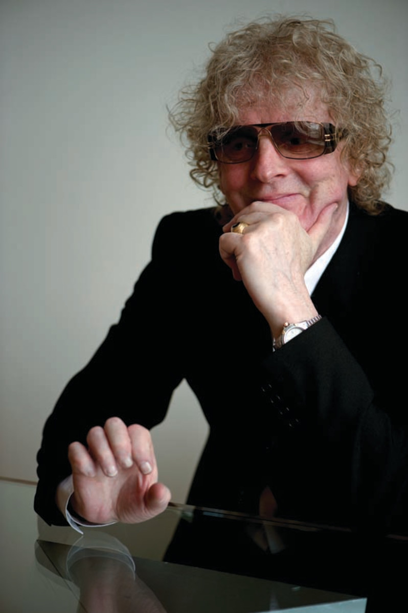 Ian Hunter by Ross Halfin