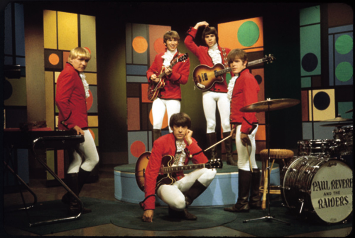 Paul Revere & The Raiders. Photo courtesy of Sony Legacy .