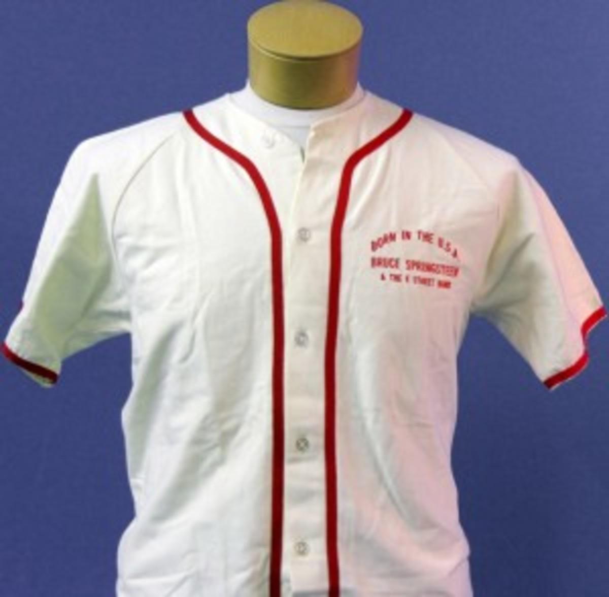 Bruce Springteen Glory Days baseball jersey