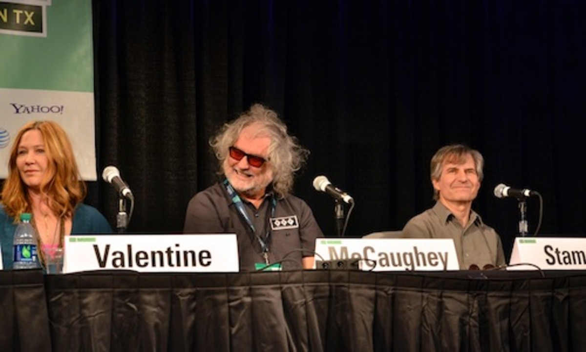 From left: Kathy Valentine, Scott McCaughey and Chris Stamey (Photo by Chris M. Junior)