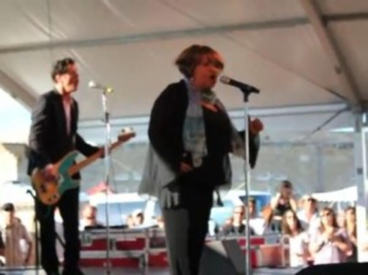 Mavis Staple at 2011's Newport Folk Festival