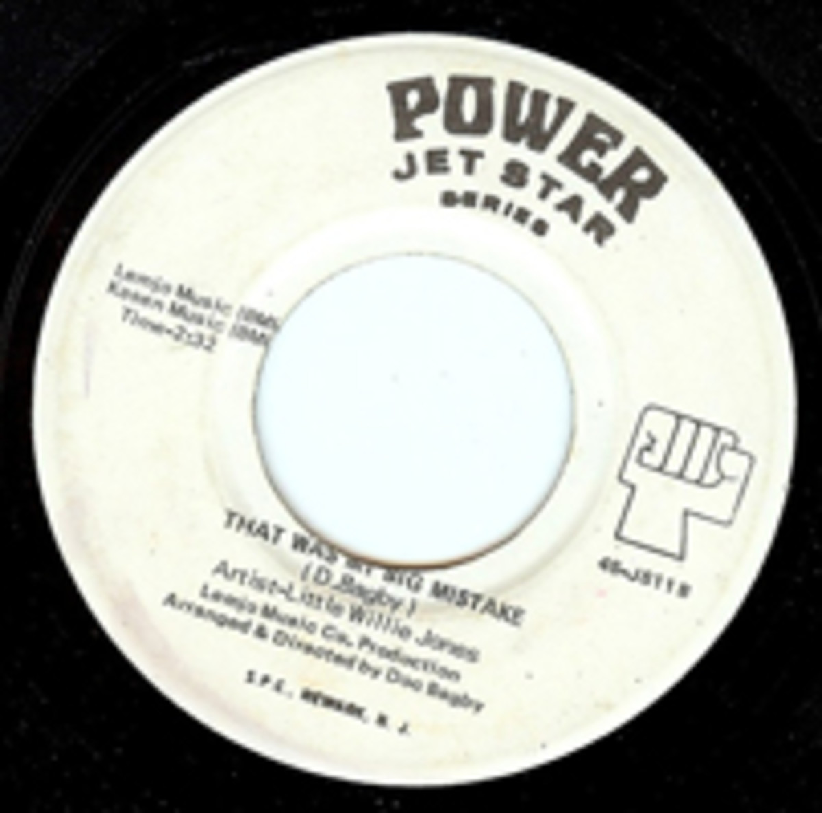 Little Willie Jones Power Jet Star 45