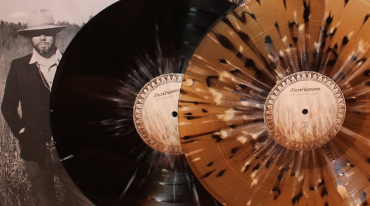 "If the music sounds half as gorgeous as the spattered color vinyl looks, buyers of Rich Robinson's new solo album, ""The Ceaseless Sight,"" are in for one heck of a treat. The album, released via The End Records, is also available on CD."