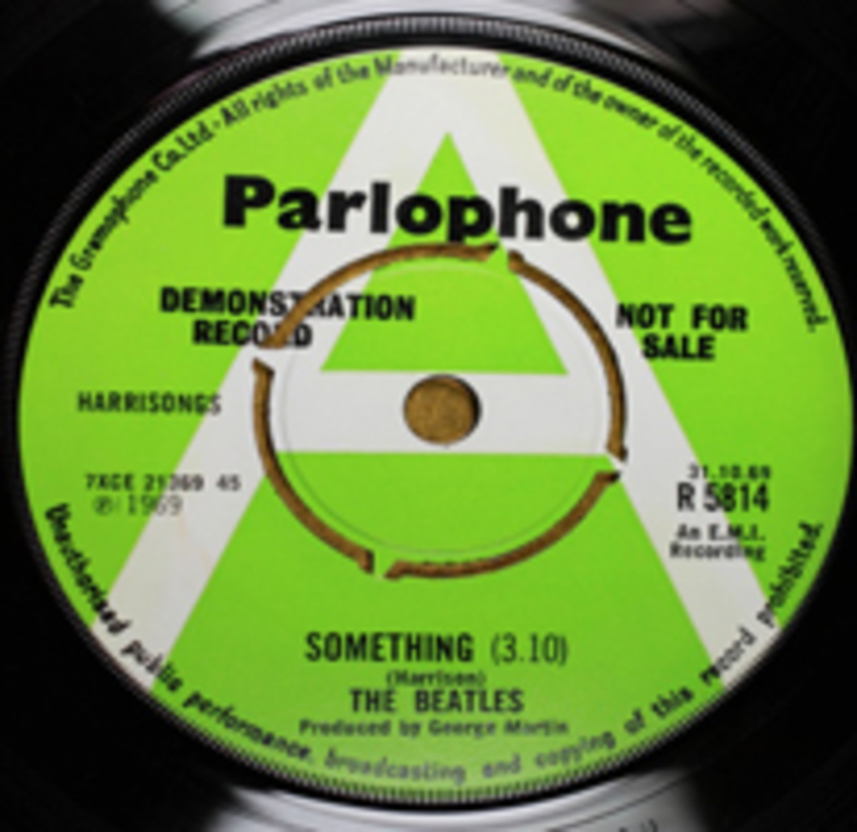 Beatles Parlophone Something demo