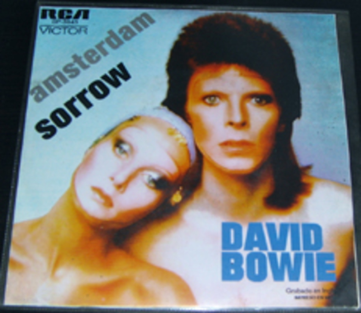 David Bowie Amsterdam Sorrow picture sleeve