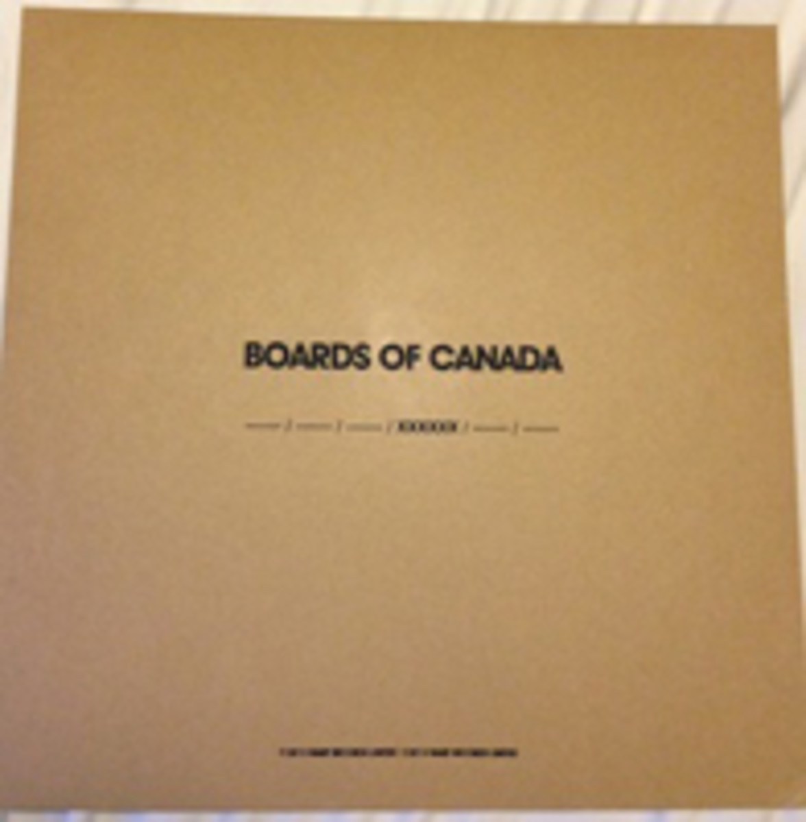 Boards of Canada Record Store Day 2013