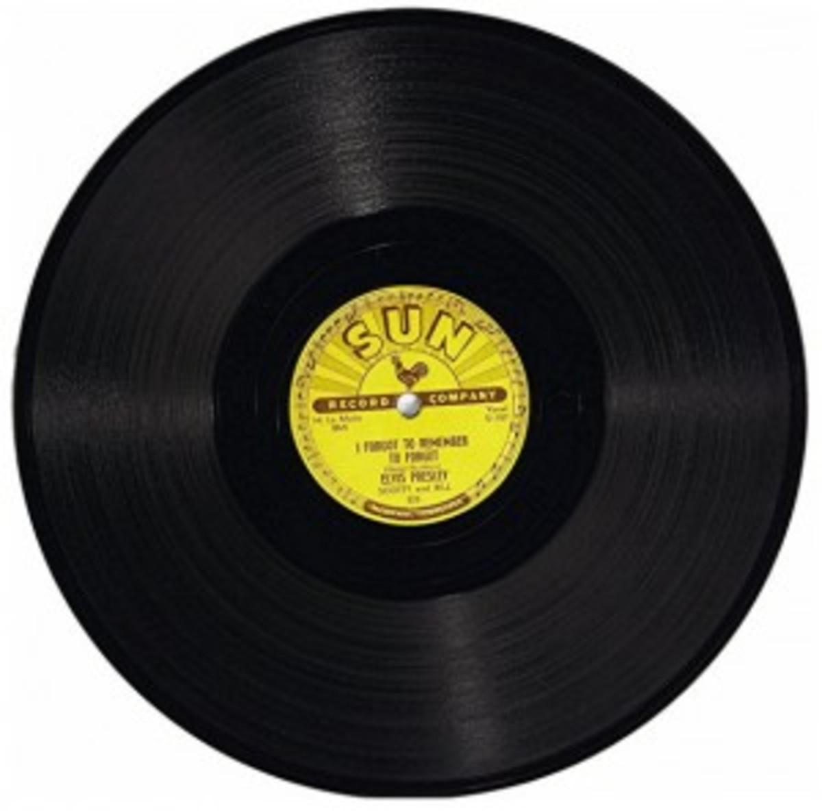 Elvis 78 on Sun Records