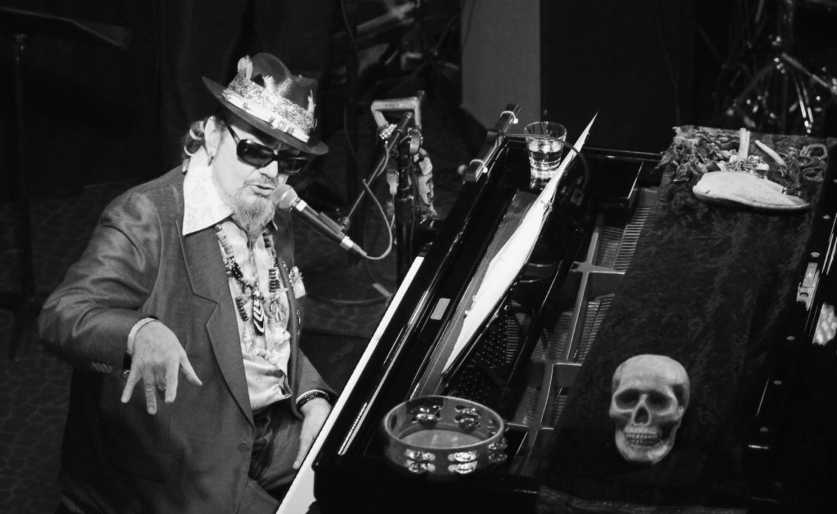 Dr. John gestures toward the audience during his Oct. 23 show at Havana in New Hope, Pa. (Photo by Chris M. Junior)