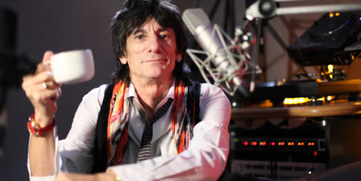 Ron Wood -- Absolute Radio pic