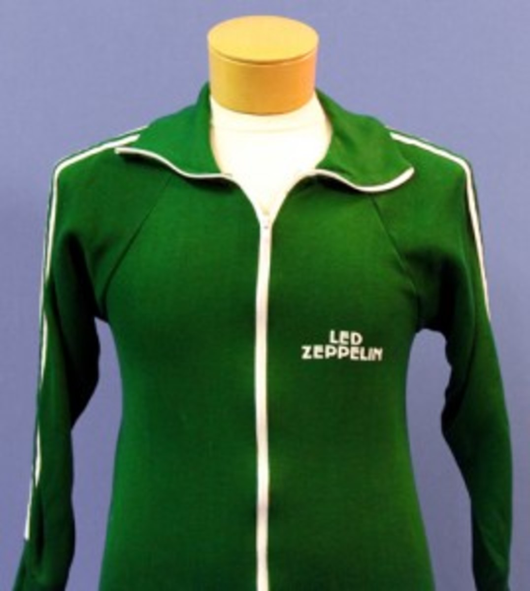 Often, better-condition promo or crew jackets and T-shirts survive only in smaller sizes. In part, that is because shirt sizes were smaller in the 1970s and 1980s, and also because many of the crew members who would be wearing the apparel would need large- or extra-large sized items. Photo courtesy Backstage Auctions.