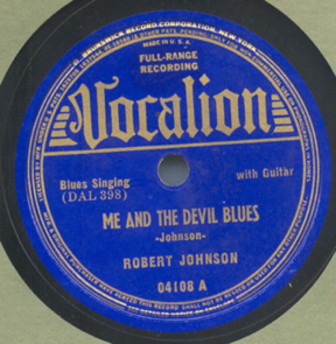 Robert Johnson Me And The Devil Blues