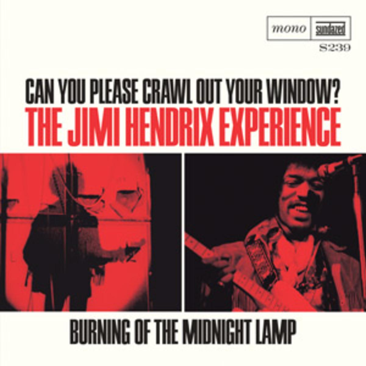 Sundazed 239 Jimi Hendrix Picture Sleeve single