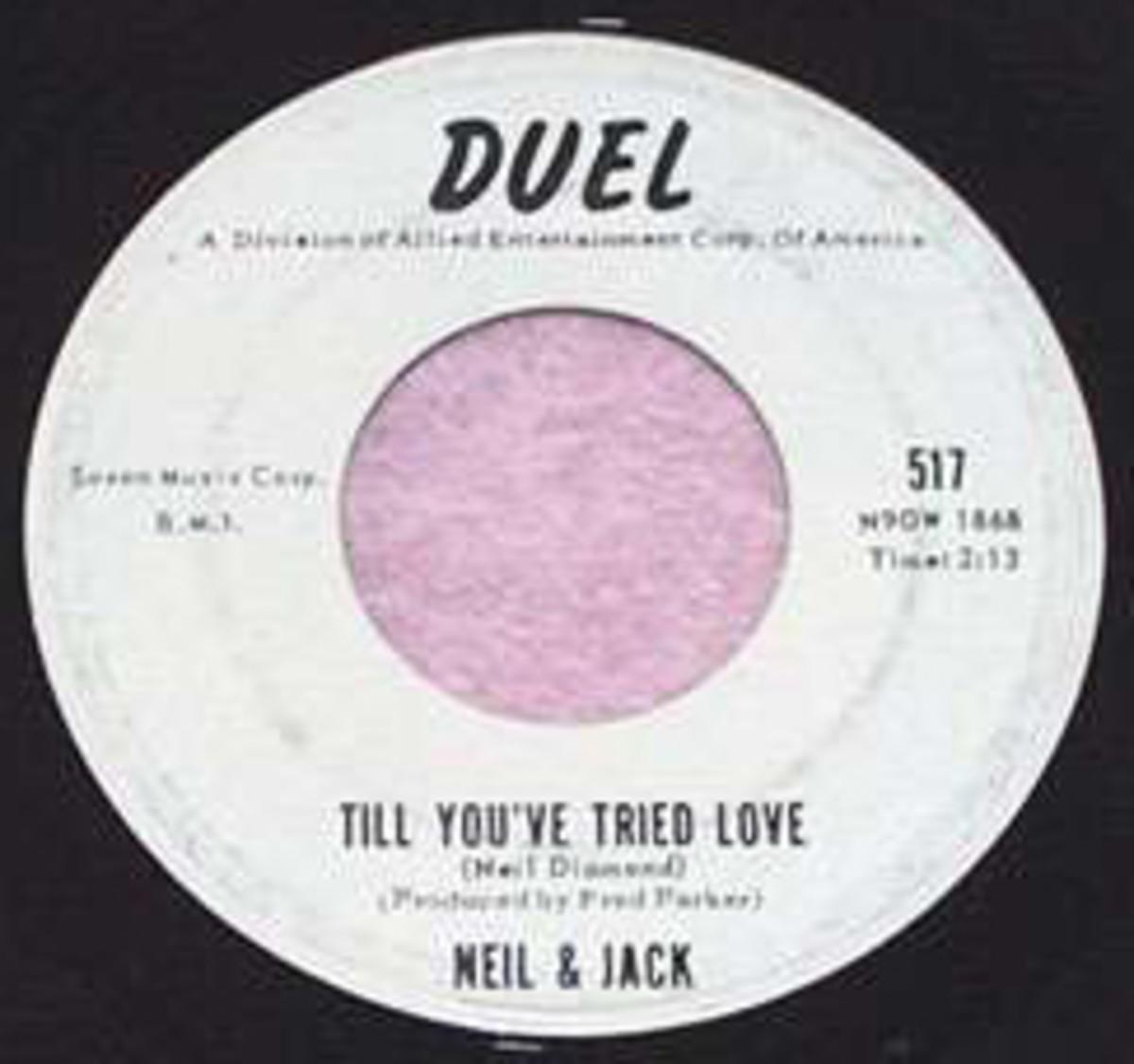Neil Diamond Till Youve Tried Love